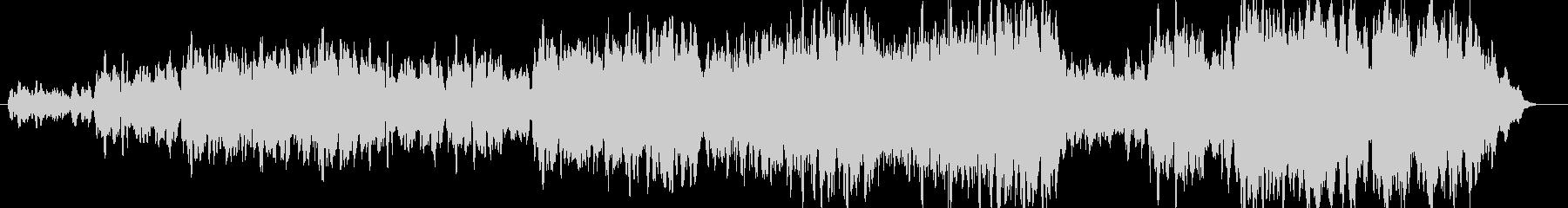 コーラスが中心の曲の未再生の波形