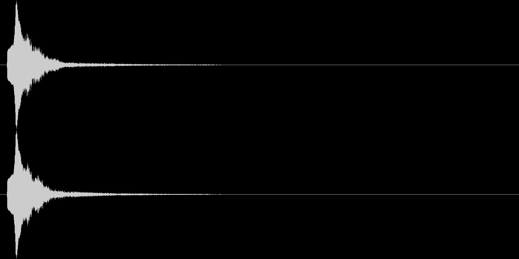 ポップアップ スライドイン 明るめSEの未再生の波形