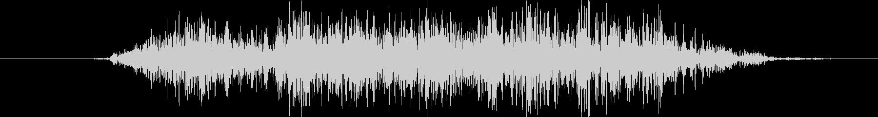 鳴き声 男性のささやきスペル04の未再生の波形