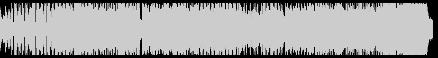 スピード感あるドラムンベースロックの未再生の波形