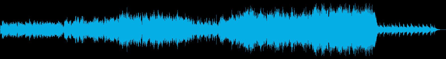 「和風」篠笛とオーケストラの感動バラードの再生済みの波形