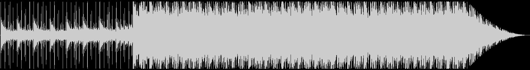 切ないR&B系ピアノバラードの未再生の波形