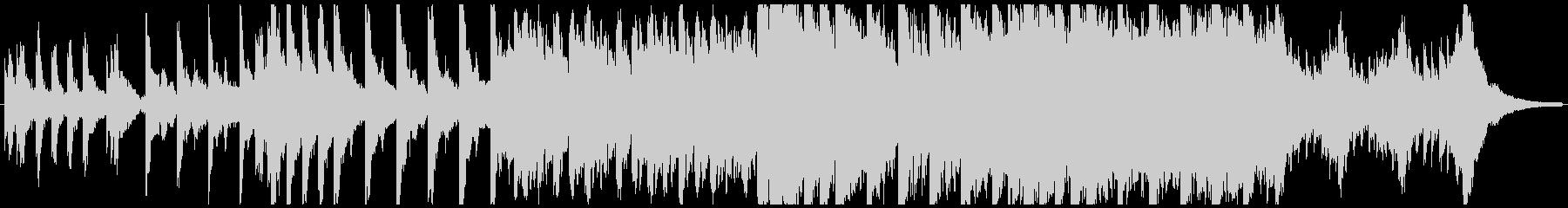 ハローウィン用のホラー曲-60秒の未再生の波形