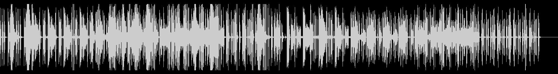 Electric Looperのdubの未再生の波形