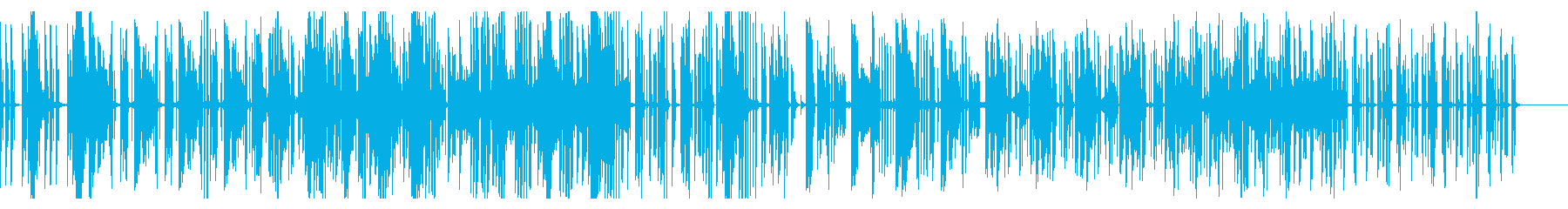 Electric Looperのdubの再生済みの波形