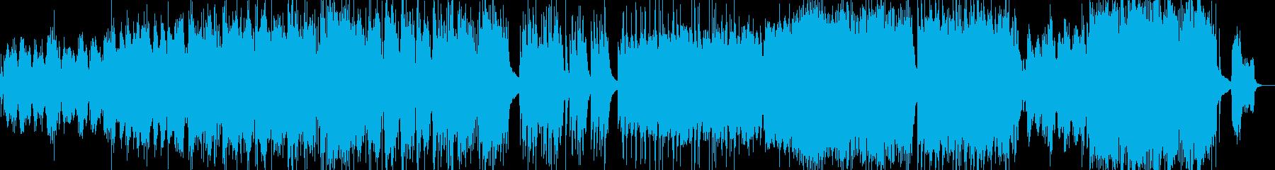 ピアノ&オーケストラの再生済みの波形