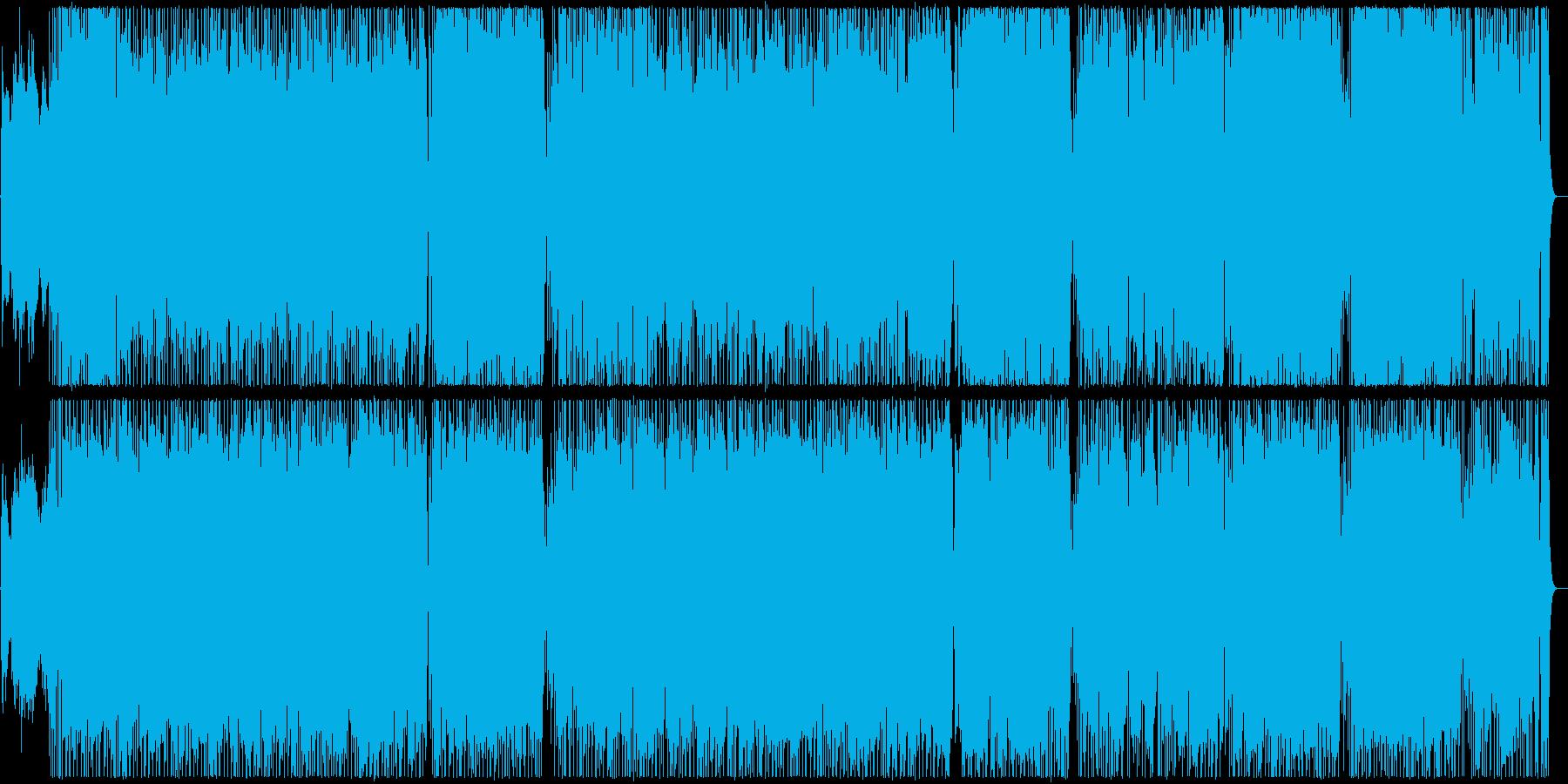 明るい旋律が印象的なインストのポップスの再生済みの波形