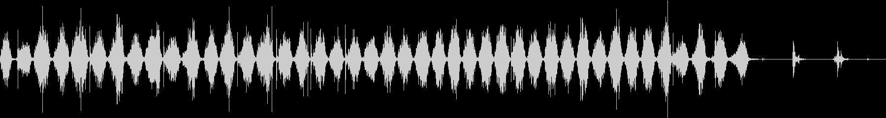 【生録音】ノコギリで物を切る音 2の未再生の波形