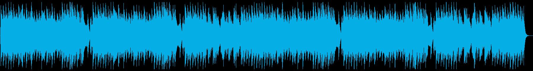 心地よいリズムで可愛いオルゴールの再生済みの波形