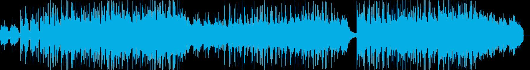 切なく、考えに浸るBGMの再生済みの波形