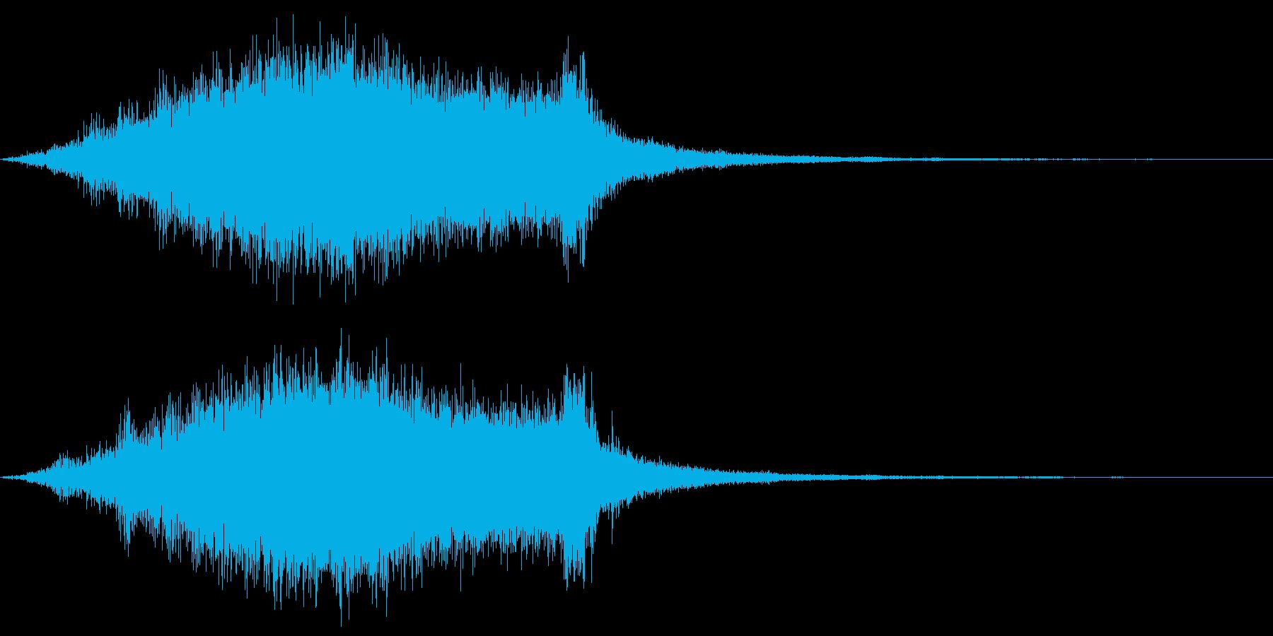 魔法詠唱 スキル発動 魔法陣_01の再生済みの波形