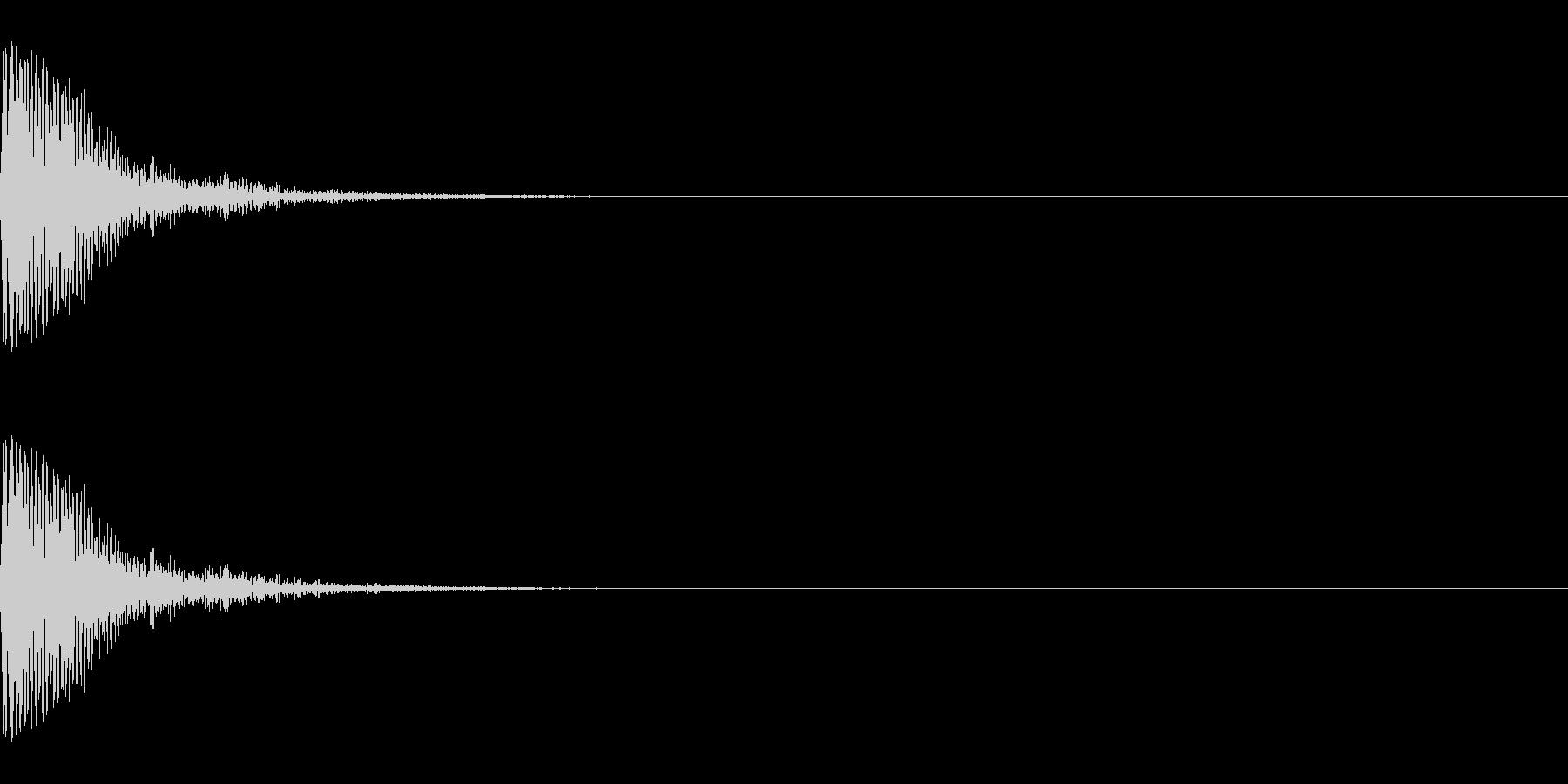 メープル材ドラムキット_スネア01の未再生の波形