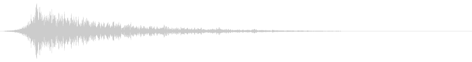 シュードーン-27-1(インパクト音)の未再生の波形