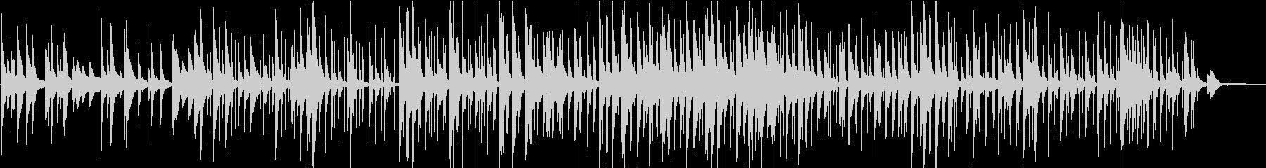 洋楽 美しいピアノのメロディ チルアウトの未再生の波形