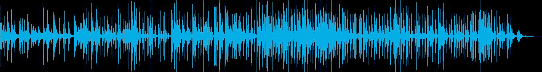 洋楽 美しいピアノのメロディ チルアウトの再生済みの波形
