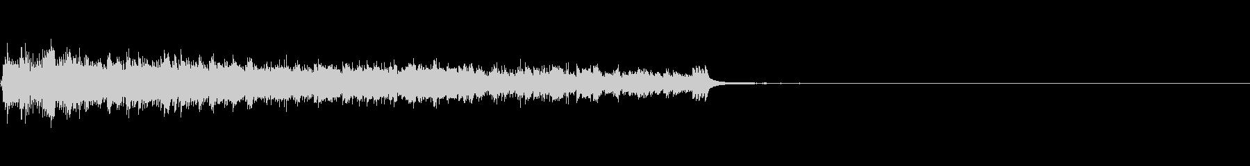時計アラームOld 1;ベル付きリングの未再生の波形
