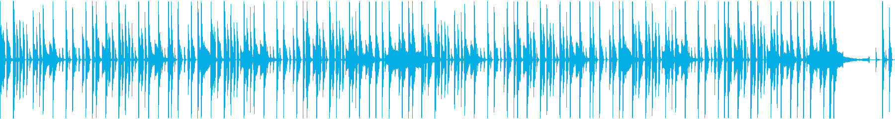 謎にトライする思考系BGMの再生済みの波形