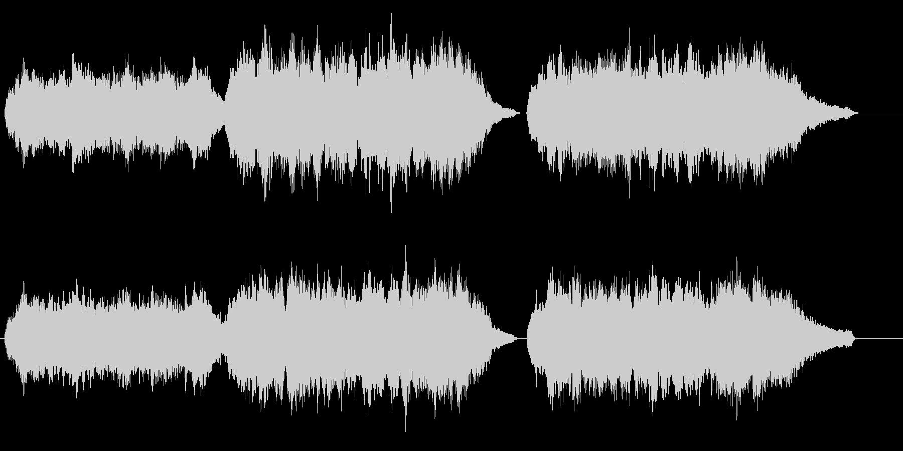 感動的な雰囲気のオーケストラバラードの未再生の波形