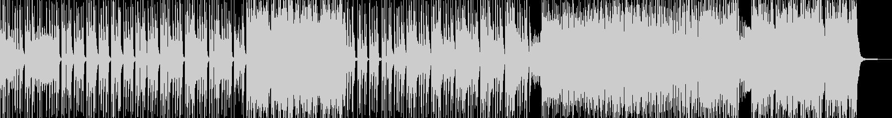 無機質&異次元・妖艶なヒップホップ Aの未再生の波形