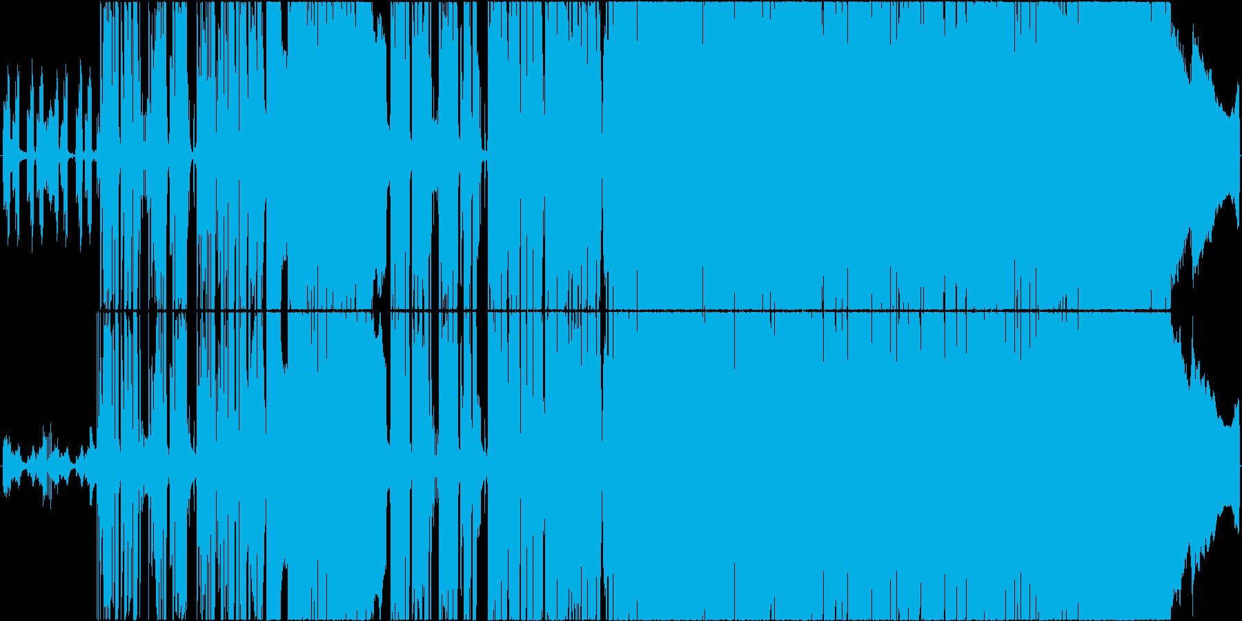 明るい、前向きな、エモいギターロック曲の再生済みの波形