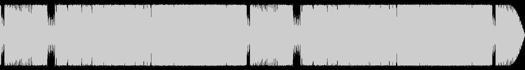 格闘・バトルに合う重厚なギターサウンドの未再生の波形