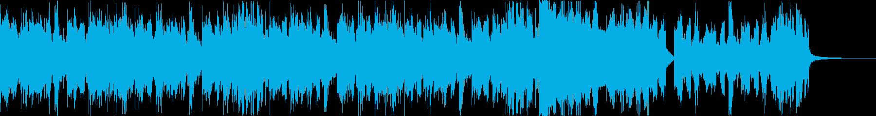 スタイリッシュ・アグレッシブエレクトロdの再生済みの波形