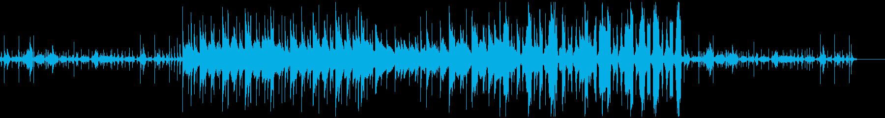 ちょっぴり切ないLo-Fi beatsの再生済みの波形