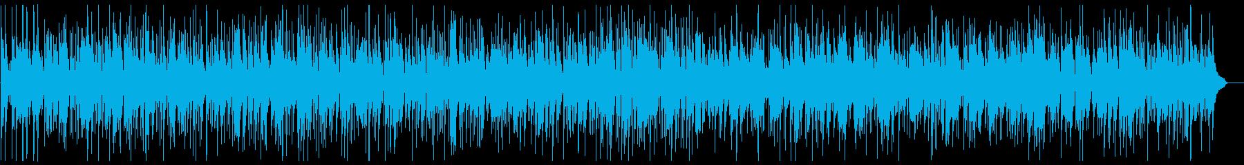 カフェにピッタリなピアノジャズ曲の再生済みの波形