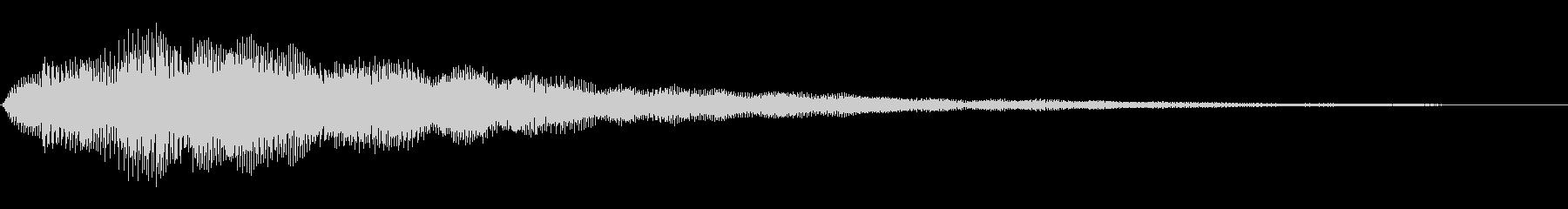 キラキラ(絵本/お知らせ/場面転換)の未再生の波形