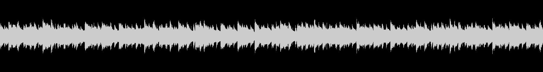 ピアノ軸のワクワク軽快BGMの未再生の波形