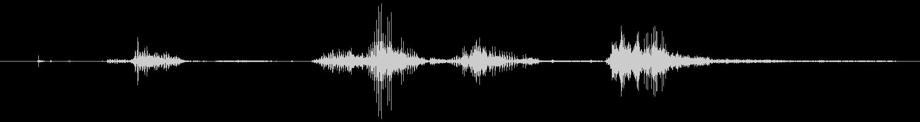 犬 チワワスナールファイト09の未再生の波形