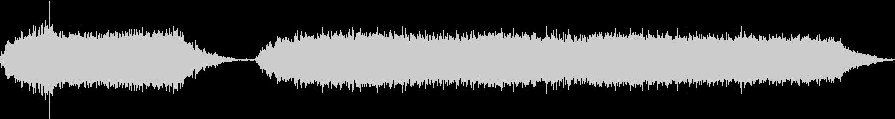アプライアンスダストバスターカバーの未再生の波形