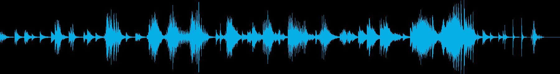終焉(ピアノバラード・悲しい・しっとり)の再生済みの波形
