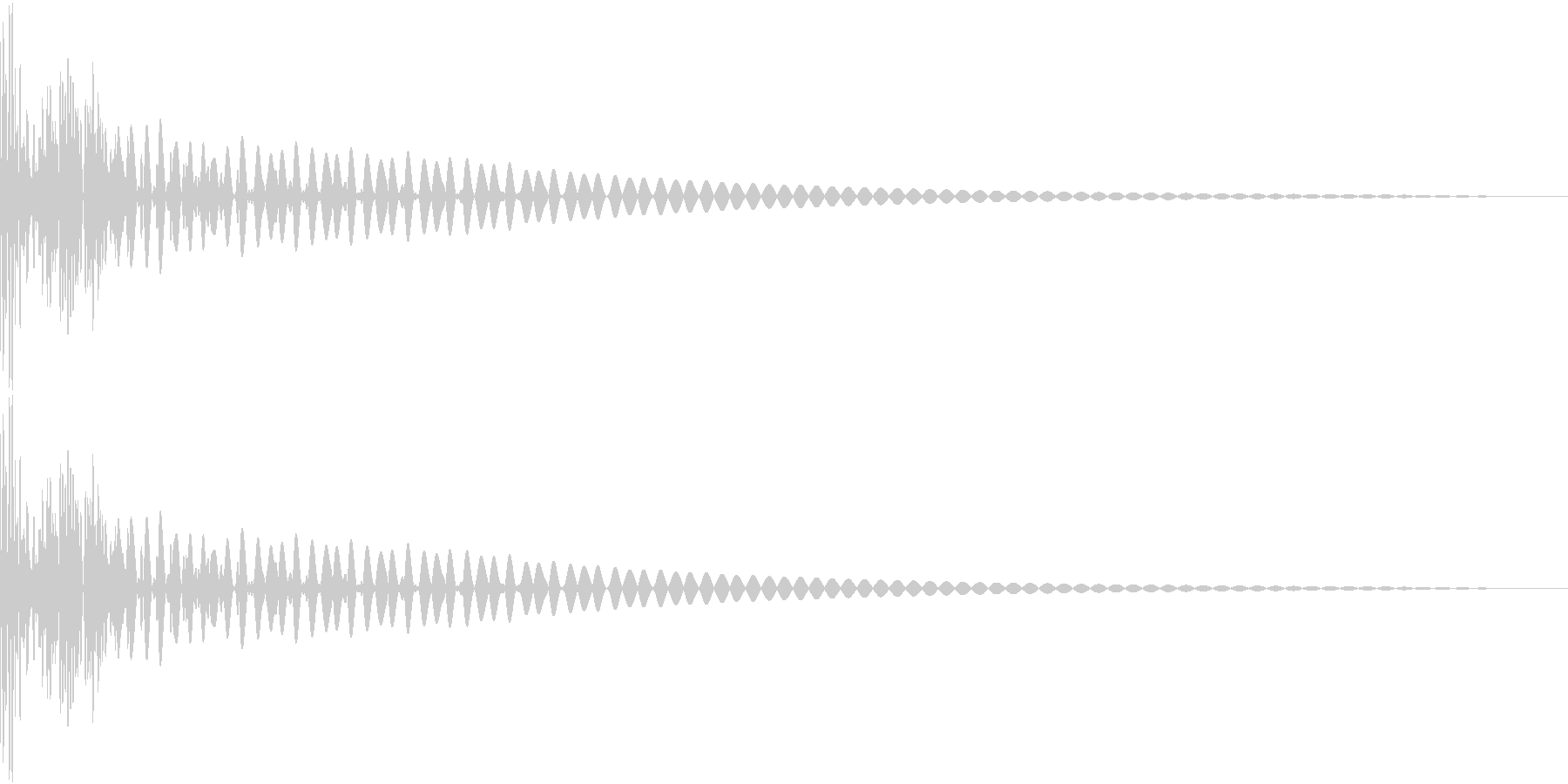 DTM Tom 5 オリジナル音源の未再生の波形