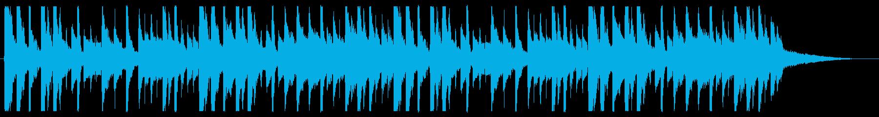 寂しげ/都会/R&B_No441_4の再生済みの波形
