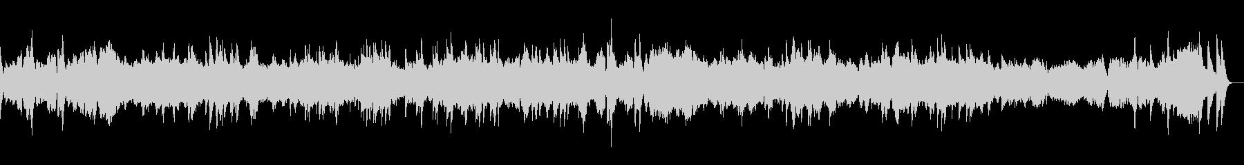 エチュード 作品10-12 オルゴールの未再生の波形
