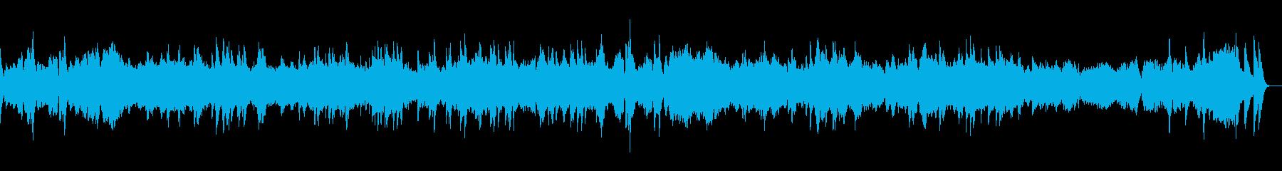 エチュード 作品10-12 オルゴールの再生済みの波形