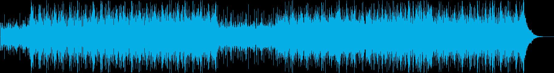 シンセサイザー、e-ピアノ、パーカ...の再生済みの波形