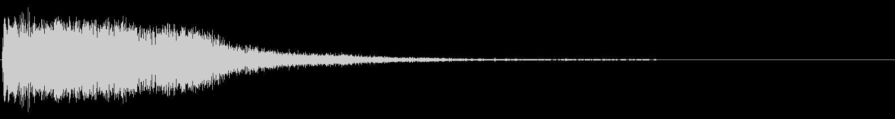 THOMPSON / CENTER...の未再生の波形