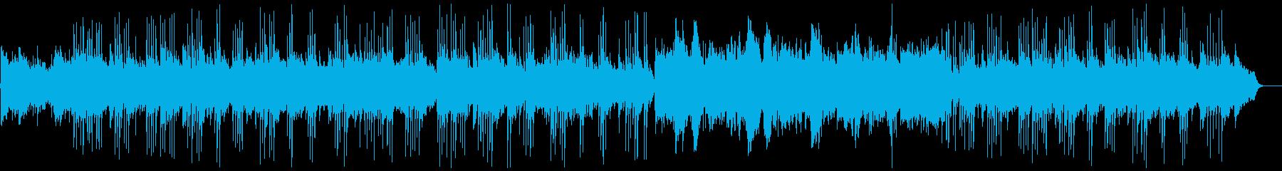 沖縄っぽいおだやかなBGMの再生済みの波形