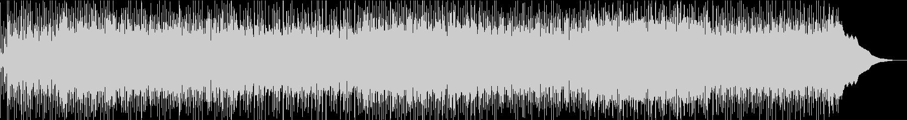 アコースティックなブルーズ・ロックの未再生の波形