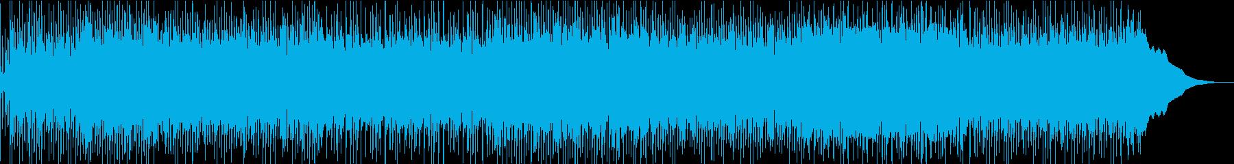 アコースティックなブルーズ・ロックの再生済みの波形
