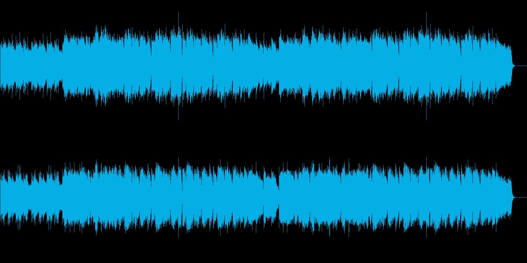 回想・後悔・卒業・温かいピアノ弦楽四重奏の再生済みの波形