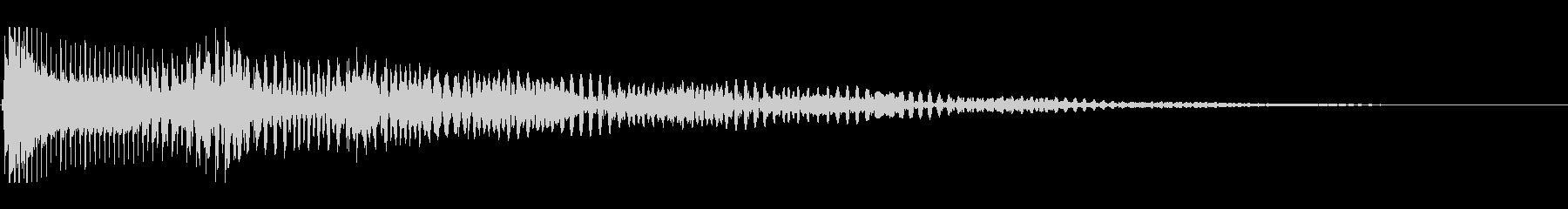 ボヨヨーン 口琴の未再生の波形
