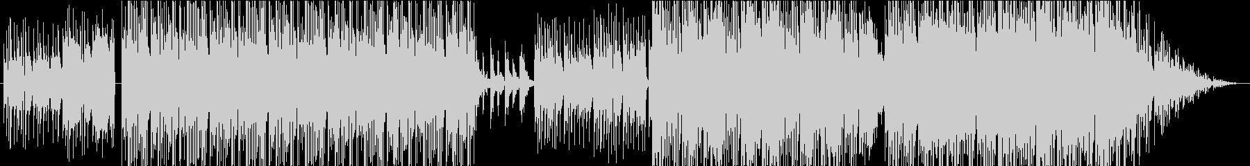 スタイリッシュで幻想的、ジャズ調BGMの未再生の波形