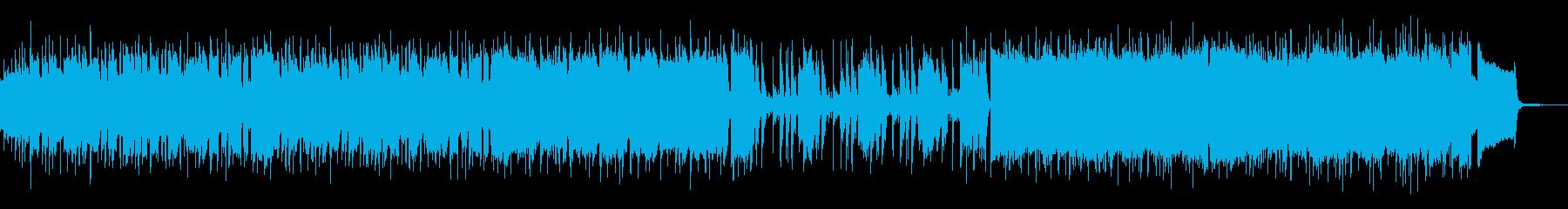 荒野・アメリカンでワイルドファンクロックの再生済みの波形