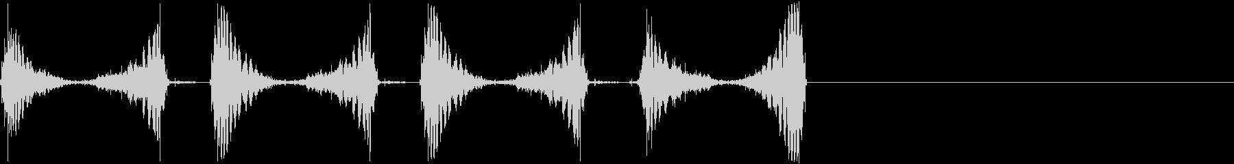 DJスクラッチ/ジュクジュク/A-04の未再生の波形