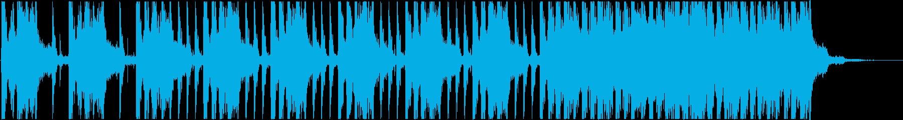 緊張 恐怖 不安<弦楽器B+4つ打ちB>の再生済みの波形