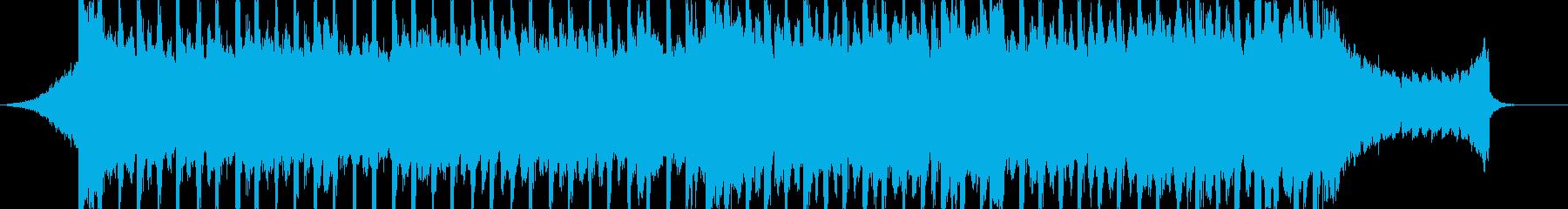企業VP向け、爽やかポップ4つ打ち11bの再生済みの波形