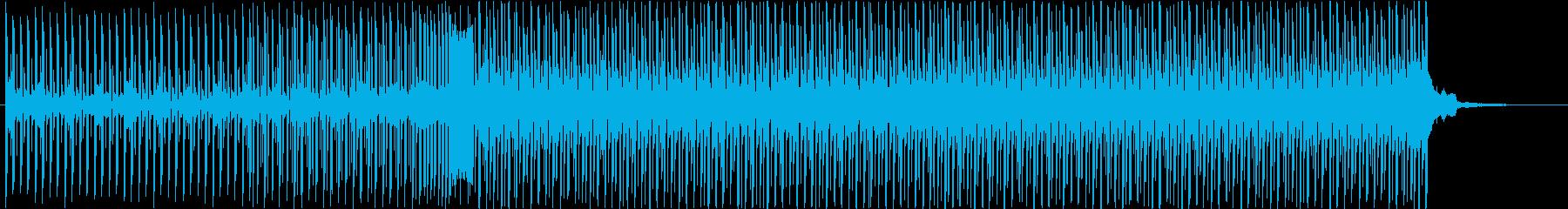 夏/清涼感あふれるトロピカルハウスの再生済みの波形